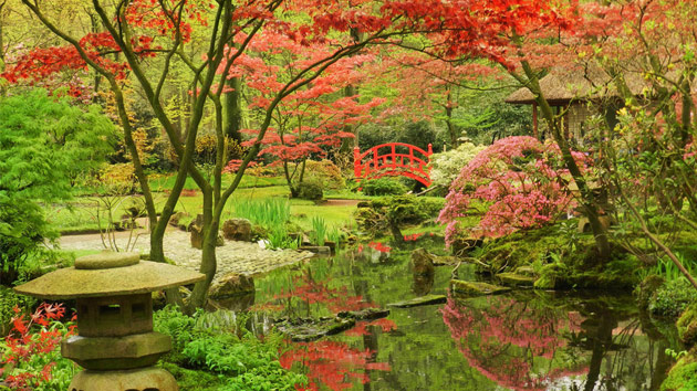 15 japanese garden landscapes home design lover for Garden landscape photos