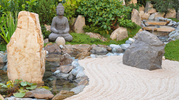 Backyard Zen Garden tips in creating a zen garden | home design lover