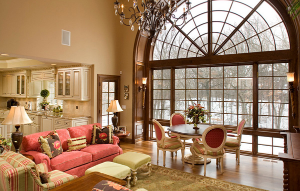 a beautiful living room 15 pretty in pink living room designs home design lover 17411