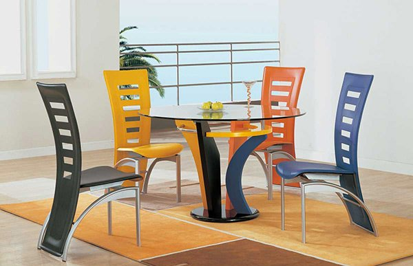 Brilliant A Burst Of Colors From 20 Dining Sets With Multi Colored Download Free Architecture Designs Embacsunscenecom