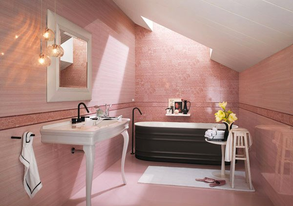 15 Creative Bathroom Tiles Ideas | Home Design Lover