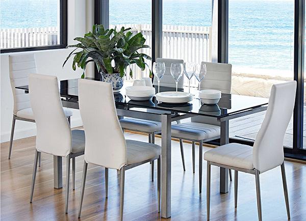 Sarah 7 Piece Dining Suite. Email; Save Photo. Minimal Yet Elegant