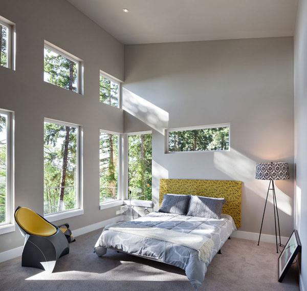 bedroom natural light