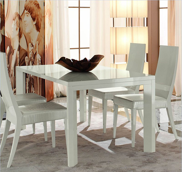 Refreshingly Neat 15 White Dining Sets Home Design Lover