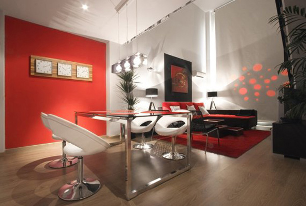 Modern Red Dining Room. Email; Save Photo. Marie Burgos