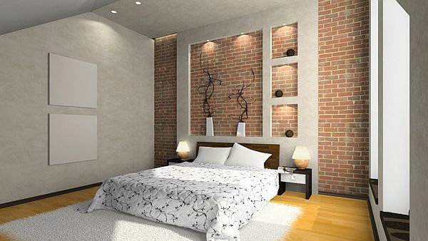15 Bedrooms with Exposed Brick Walls | Home Design Lover