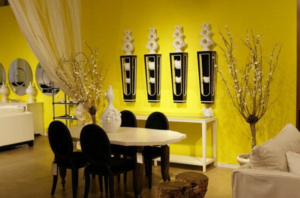 48 Bright And Pretty Yellow Dining Room Designs Home Design Lover Unique Yellow Dining Room