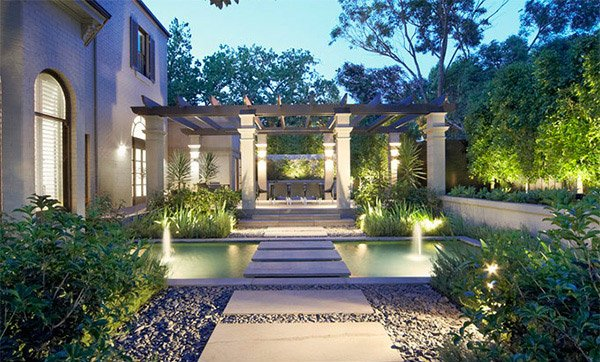15 modern gardens to extend your modern home 39 s look home - Foyer de jardin exterieur ...