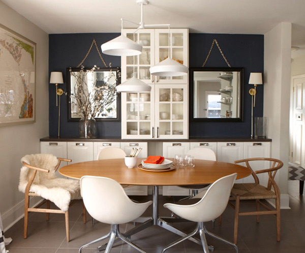 Living Room Furniture Mix And Match 15 mix and match eclectic dining rooms | home design lover