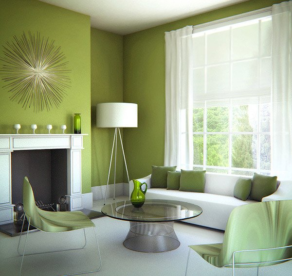 26 Relaxing Green Living Room Ideas: 20 Refreshing Green-Themed Living Rooms