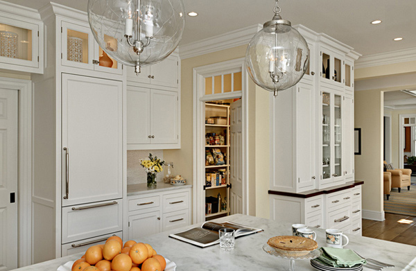 15 Classic to Modern Kitchen Pantry Ideas Home Design Lover : 2 Bright Kitchen from homedesignlover.com size 600 x 423 jpeg 182kB