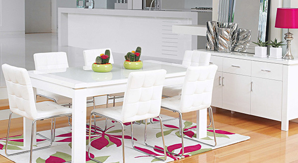 Domus 7 Piece Dining Setting. Email; Save Photo. Luxurious Upholstery