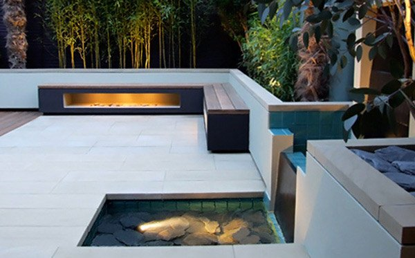 water feature lighting