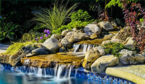 pool spillway
