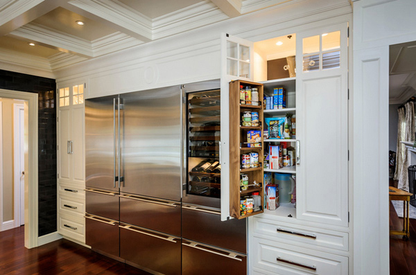 modern kitchen pantry designs 15 classic to modern kitchen pantry ideas home design lover 7730