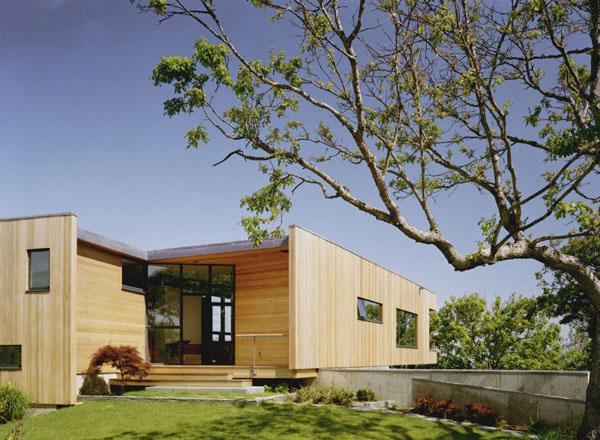 wood exterior wall