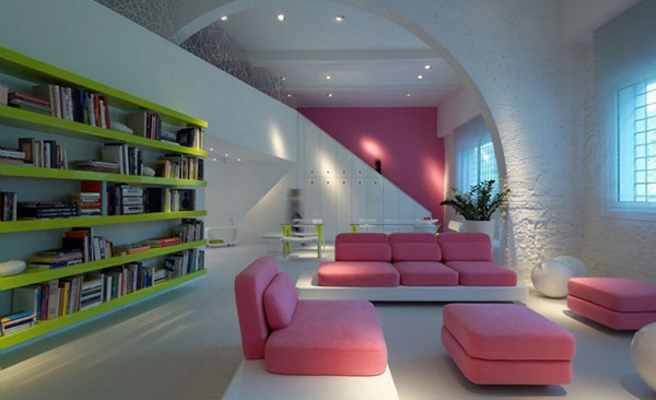 pink furnitures