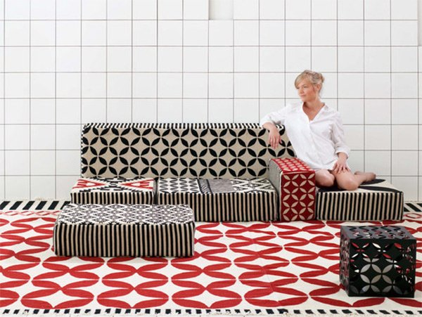 Pleasant 15 Flexible Modern Modular Sofa Systems Home Design Lover Machost Co Dining Chair Design Ideas Machostcouk