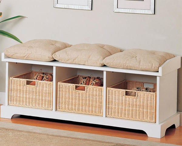 storage bench design