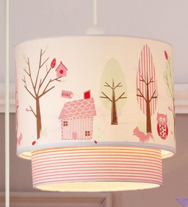 pink bedroom light