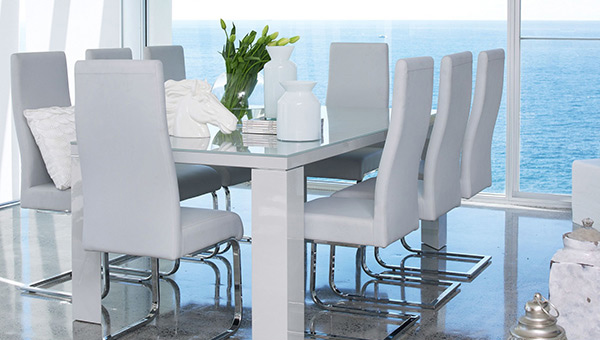 Beau Hollywood 9 Piece Dining Suite. Email; Save Photo. Contemporary Design