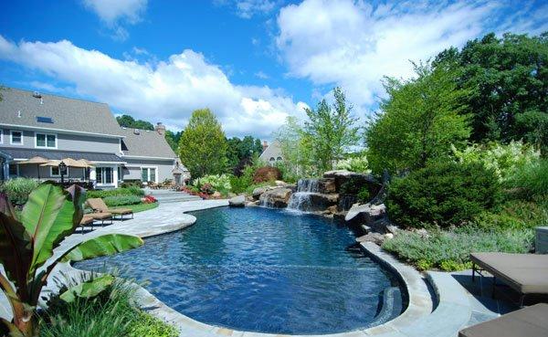 15 Pool Landscape Design Ideas | Home Design Lover