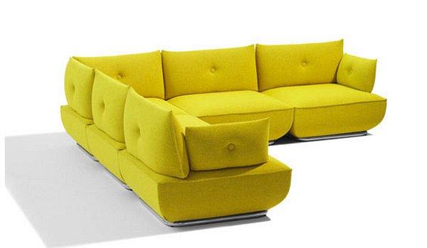extendable modular sofa
