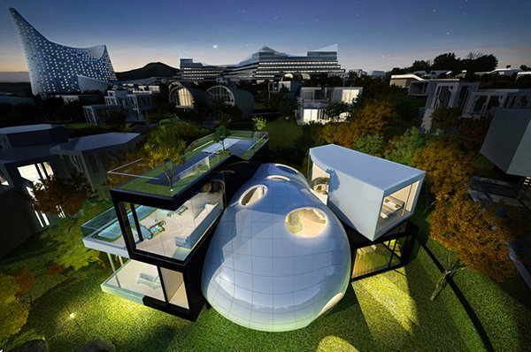 15 Unbelievably Amazing Futuristic House Designs | Home ...