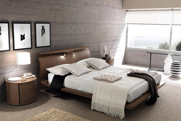 20 Bedrooms with Wooden Panel Walls | Home Design Lover