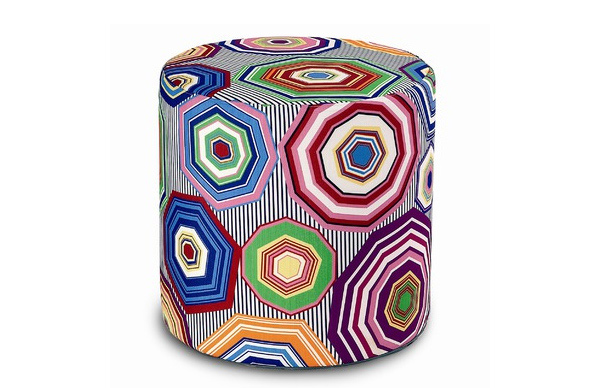 Cylindrical Poufs