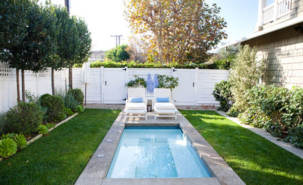 Backyard Design With Pool. Small Swimming Pool Backyard Design With I