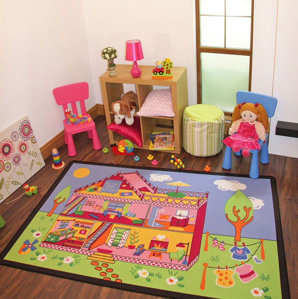 15 Kid\'s Area Rugs for More Enjoyable Playtime | Home Design Lover