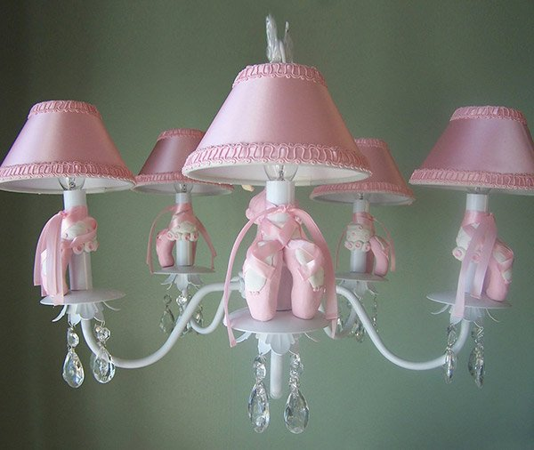 Princess Chandelier Kids Ceiling Light