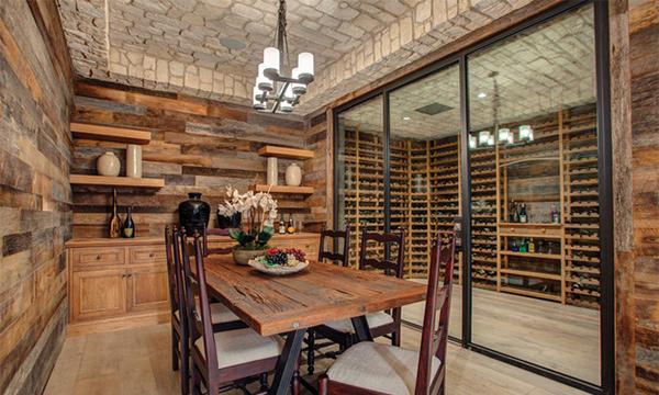 Dining-Wine Cellar