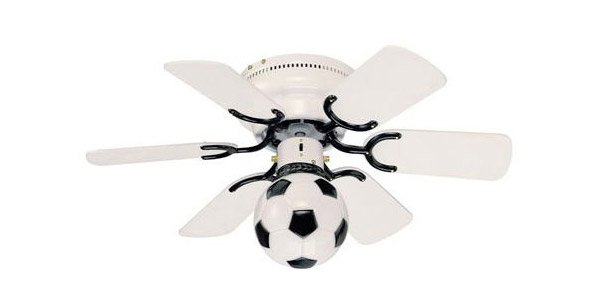 Soccer Ball Ceiling Fan