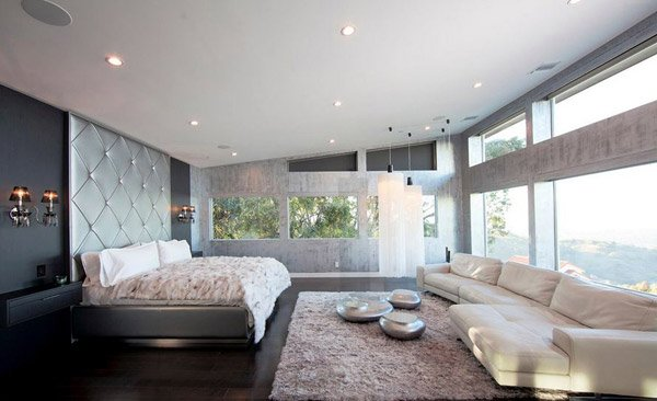 Beverly Hills Private Residence Cool Bedroom Ideas