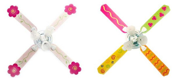 Fun and Funky Kids Ceiling Fan