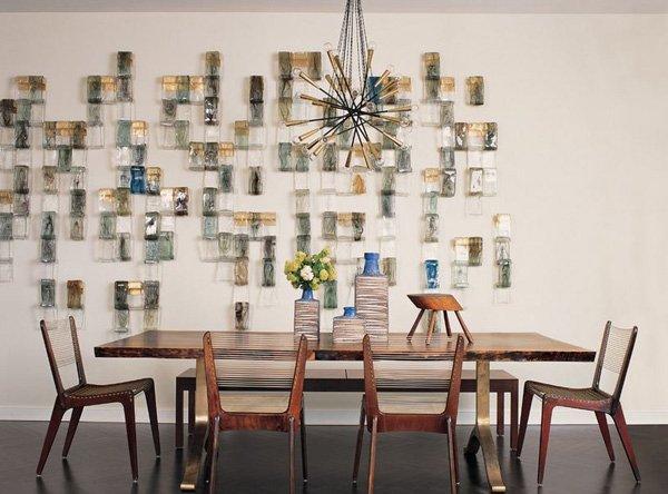 Modern-Retro Dining Room