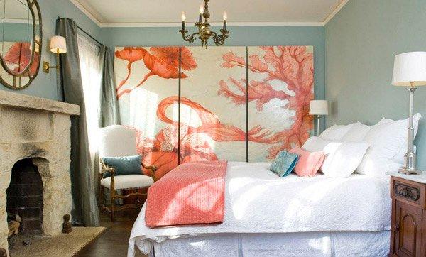Pueblo St Orange Bedroom
