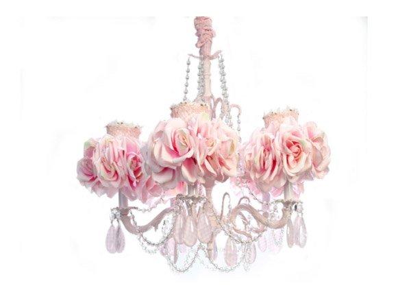 Forever Roses Chandelier