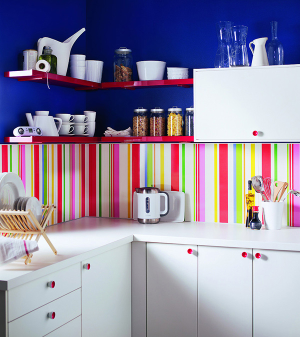 stripe kitchen ideas