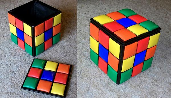 rubrik cube ottoman
