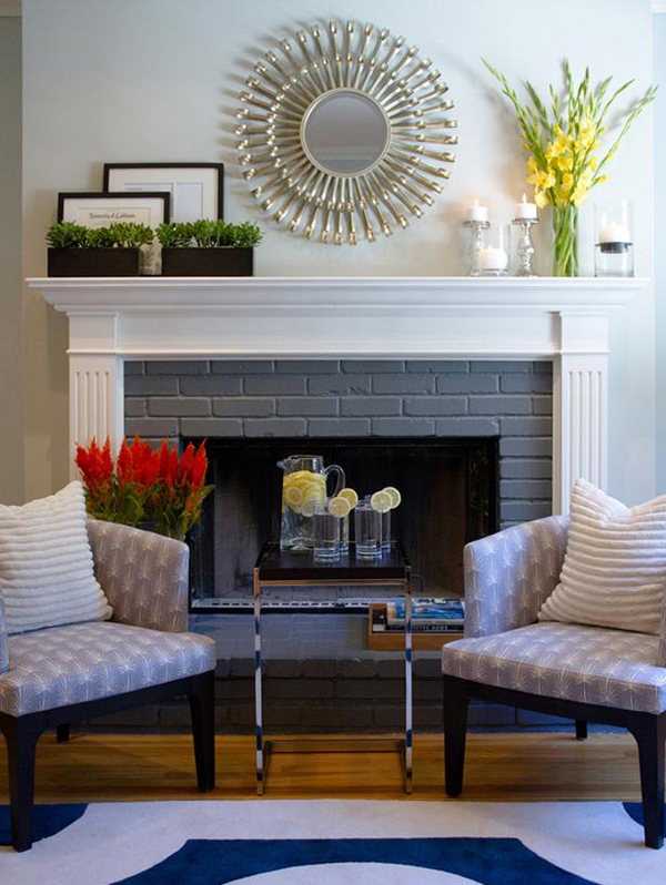 Stylish Living Rooms 15 lovely and stylish living room fireplaces | home design lover