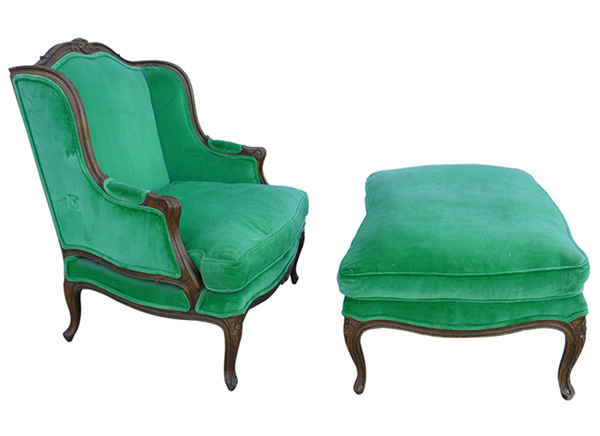 vintage chair - 15 Antique Wingback Chairs In Plain Colors Home Design Lover