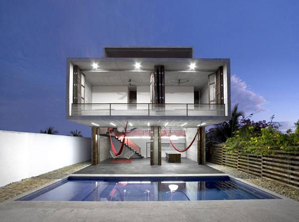 15 Intelligently Designed Cantilevered Houses | Home Design Lover