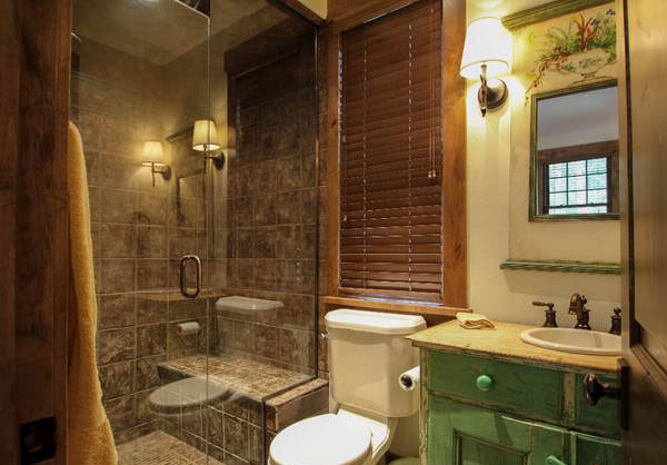 classic bath area