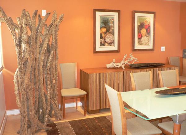 15 Catchy Orange Dining Room Designs | Home Design Lover