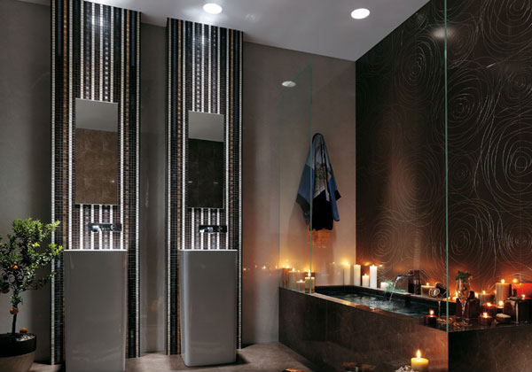 black candle bathtub