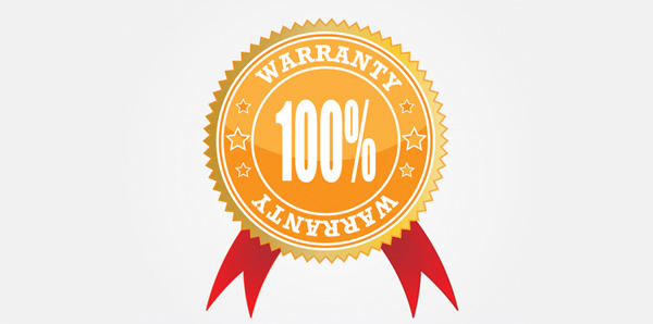 Be aware of warranties