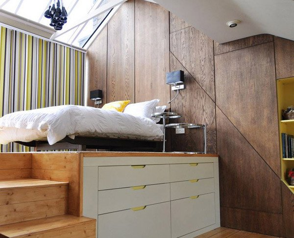 Loft Bedroom idea Cool